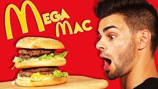 Video RECETTE MCDO : VOICI LE MEGAMAC ! MP3, 3GP, MP4, WEBM, AVI, FLV Agustus 2017