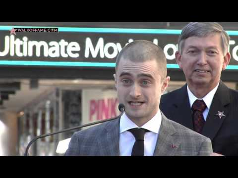 Daniel Radcliffe Walk of Fame Ceremony