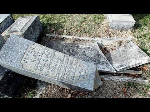 Νέα επίθεση κατά εβραϊκού νεκροταφείου στις ΗΠΑ