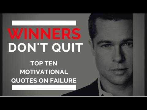 Encouraging quotes - Top 10 Inspirational Quote on Failure