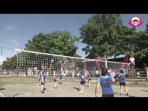 UBND xã Nghĩa Xuân tổ chức giải bóng chuyền chào mừng Đại hội đại biểu đảng bộ huyện Quỳ Hợp