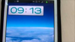 Desire Clock Widget YouTube video