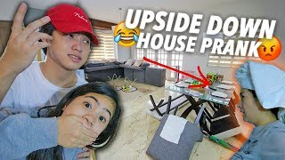 Video UPSIDE DOWN HOUSE PRANK ON PARENTS! | Ranz and Niana MP3, 3GP, MP4, WEBM, AVI, FLV Mei 2019
