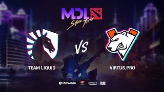 Team Liquid vs Virtus.рro, MDL Macau 2019, bo1, [Lex & 4ce]