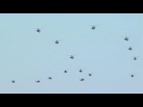 The 16th Combat Aviation Brigade...