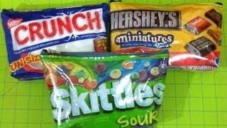 DIY Candy Bag Tutorial! - YouTube