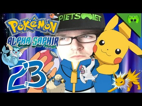 POKEMON # 23 - Bergsteiger Jay «»  Let's Play Pokemon Alpha Saphir | HD