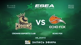 Crowns vs Echo Fox, game 2