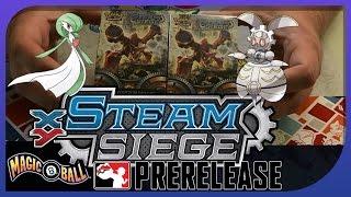 Pokemon TCG Steam Siege PreRelease Openings! Epic PreRelease Pull! by Papa Blastoise