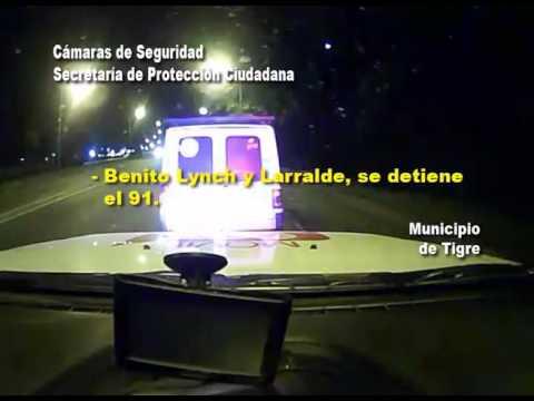 Evadió un control policial y lo detuvieron tras una persecución