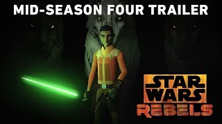STAR WARS REBELS (2018) Mid-Season 4 Trailer (Official)