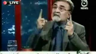 Nusrat Javed calls for Zaid Hamid to be sent to asylum and given -Tika- - YouTube.flv
