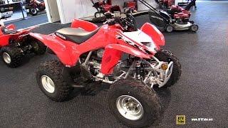 7. 2015 Honda TRX 250X Sport ATV - Walkaround - 2014 Toronto Snowmobile & ATV Show