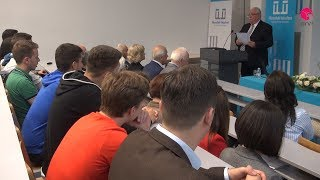 Akademik Šimun Musa održao predavanje o hrvatskom jeziku jučer i danas