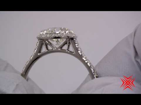 Incredible Halo style ring from High Performance Diamonds