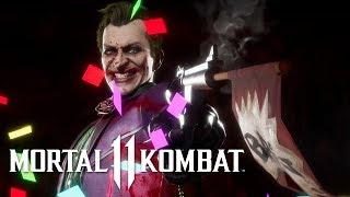 Mortal Kombat 11 - Official Joker Gameplay Trailer by GameSpot