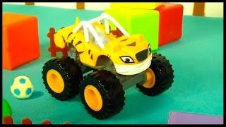 CRUSHER'S BALLS! - Monster Truck Toys for Kids - Toy Cars Videos for Children - Videos for Kids