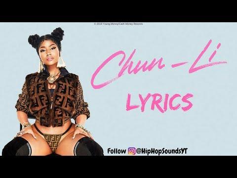 Nicki Minaj - Chun Li (Lyrics)