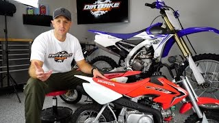 1. Honda CRF50F Review - Best bike for kids to learn how to ride -4K - Episode 102
