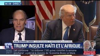 """Video Donald Trump qualifie Haïti et des nations africaines de """"pays de merde"""" MP3, 3GP, MP4, WEBM, AVI, FLV Januari 2018"""