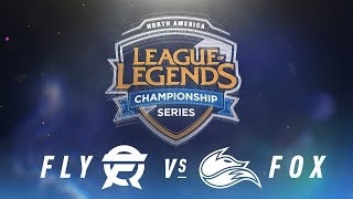 Video FLY vs. FOX - Week 9 Day 1 | NA LCS Spring Split | FlyQuest vs. Echo Fox (2018) MP3, 3GP, MP4, WEBM, AVI, FLV Agustus 2018