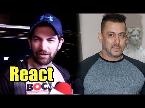 Neil Nitin Mukesh Reacts On Salman Khan's 'Raped W