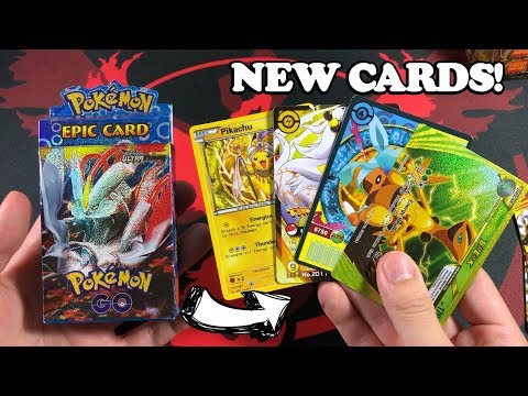 DISCOVERED BRAND NEW POKEMON CARDS! (INSANE CARDS FOUND)