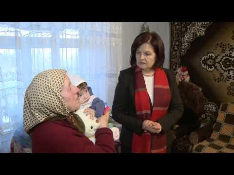 Margareta Timofti a oferit daruri unei familii cu 8 copii
