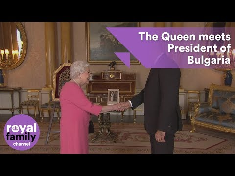The Queen receives Bulgarian President Rumen Radev