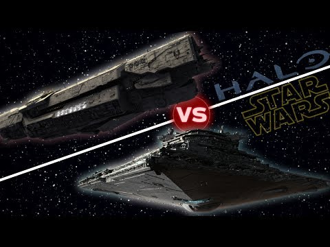 UNSC Infinity vs First Order Star Destroyer | Halo vs Star Wars: Who Would Win