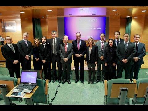 Alberto Fabra preside el acto de presentación del portal web Invest-CV