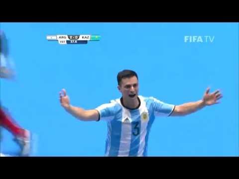 España y Azerbaiyán debutaron con goleadas en el Mundial de fútsal