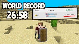 Minecraft Speedrun 2 Players World Record 1.16.1