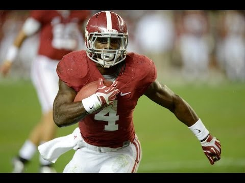 T.J. Yeldon Highlights Alabama video.