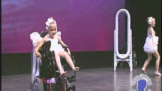 Touching Video: Little Girl Dancing On Wheelchair