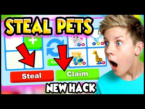 NEW HACK To STEAL PETS in Adopt Me!? Can We Get These TikTok Hacks To Work? PREZLEY Adopt Me