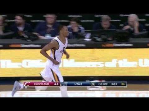 Rodney Hood Highlights   18 Points   vs. Cleveland Cavaliers   01.10.2017