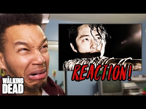 """The Walking Dead Season 7 Episode 1 """"The Day Will Come When You Won't Be"""" REACTION!"""