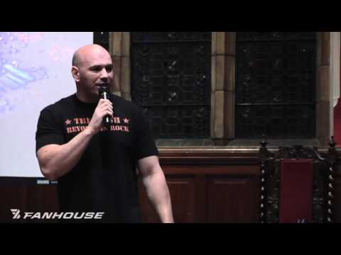 Dana White Addresses Oxford Union Society