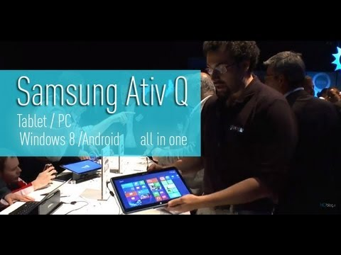 Samsung Tablet Ativ Q Dual OS Win 8/Android 13.3″ 3200×1800 anteprima by HDblog