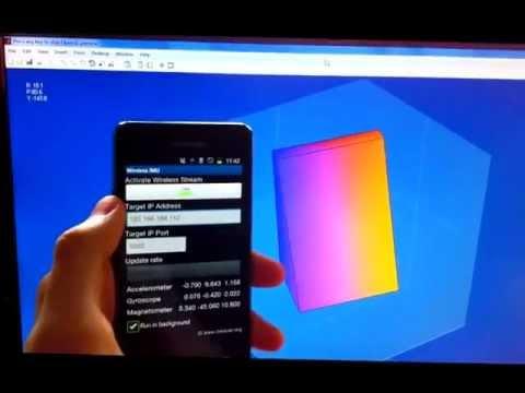 Video of Wireless IMU