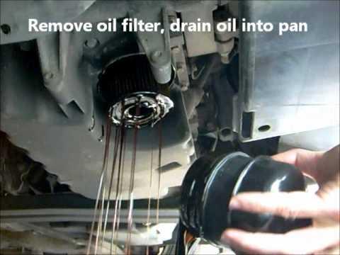 Oil Change and Oil Filter Change. Volvo S40 V40