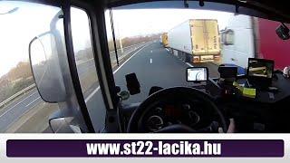 55. A kamionos/trucker. Dugó/stau/long delay in calais-dover-folkestone. 2015