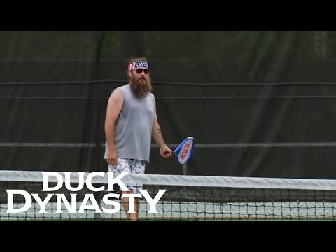 Duck Dynasty: Top Moments: Willie Plays Tennis | Duck Dynasty