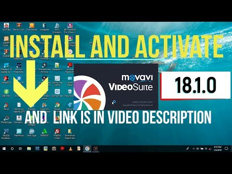 How to install,activate movavi suite 18. 1. 0 in 2019 for free and get started step by step tutorial