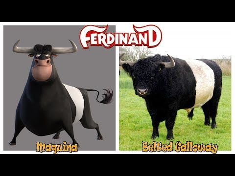 Ferdinand Characters in Real Life
