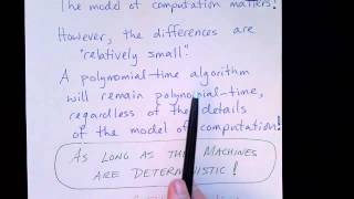 Lecture 60/65: Time Complexity with Different Computational Models