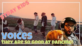 Download Lagu Stray Kids - Voices, this video is amazing! **Performance Reaction** Mp3
