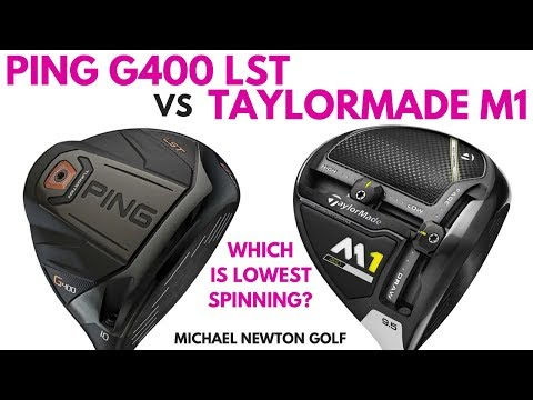 Ping G400 LST Driver VS TaylorMade M1 460 Driver Head To Head