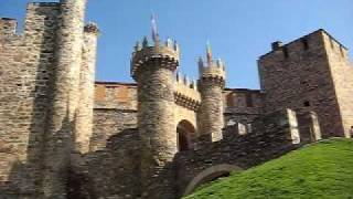 Ponferrada Spain  City new picture : The Knights Templar castle in Ponferrada, Spain